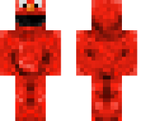 Elmo HD Minecraft Skin