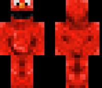 Elmo HD Minecraft Skin