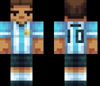 Messi Minecraft Skin