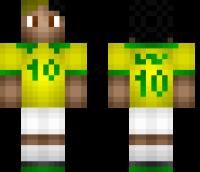 Neymar Minecraft Skin