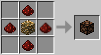 Crafting Redstone Lamp
