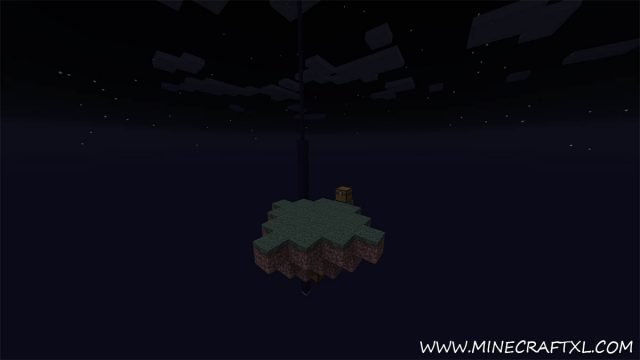 4 Pillar Survival Map for Minecraft