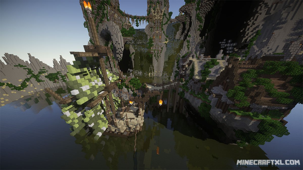 Aerlond fantasy city map download for minecraft 1716 aerlond fantasy city map sciox Image collections