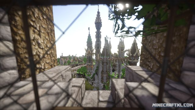 Aerlond Fantasy City Map
