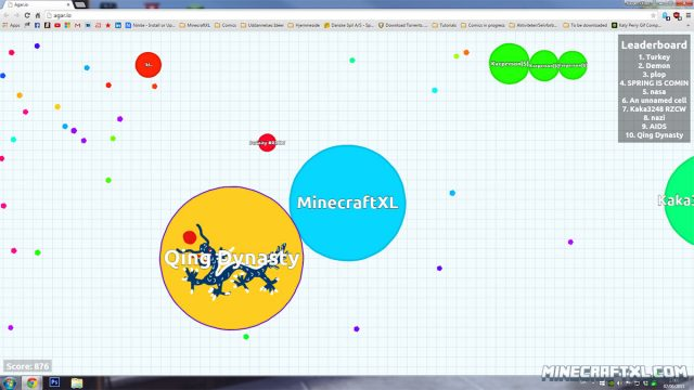 Agar_io Map
