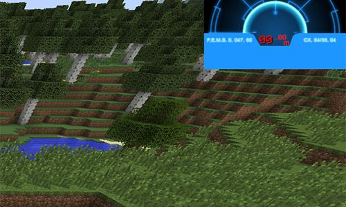 Aliens Motion Tracker Mod for Minecraft 1.7.2/1.6.4