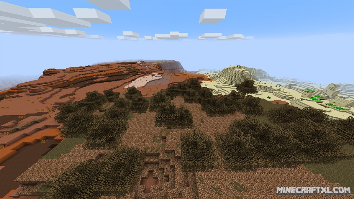 All Biomes Seed 8913466909937400889 For Minecraft