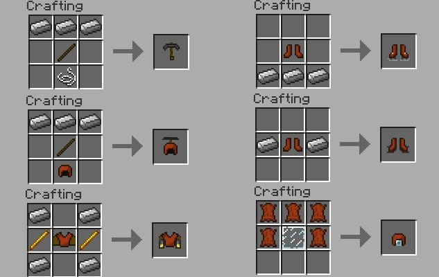 Armor Movement Mod Download for Minecraft 1.6.2 - MinecraftXL