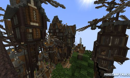Atropos 2 Map for Minecraft 1.7/1.6