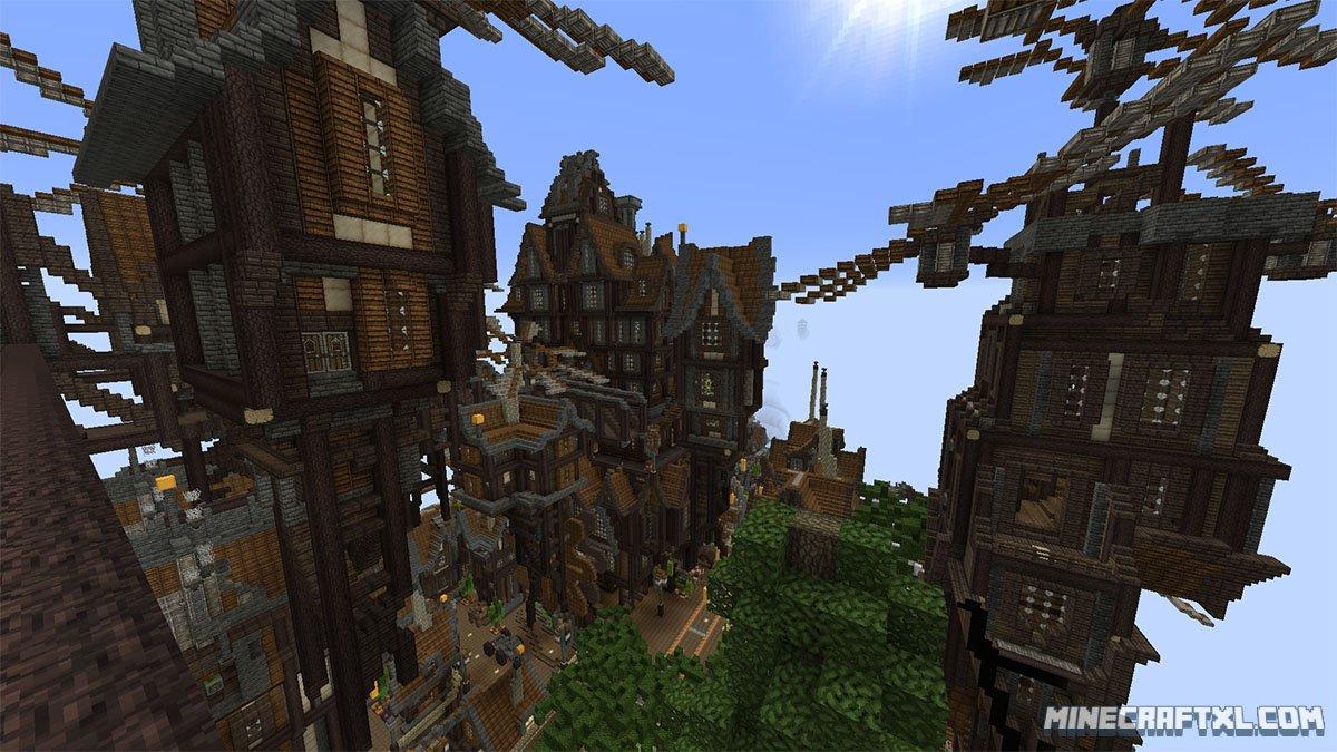 Mapsimpressive Minecraft