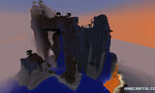 Awesome Mountain Seed for Minecraft 1.8: 3657966