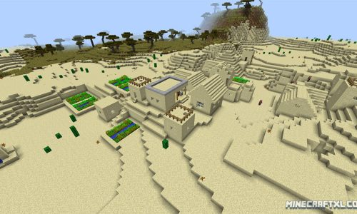 Awesome Starter Seed for Minecraft 1.8: -516687594611420526