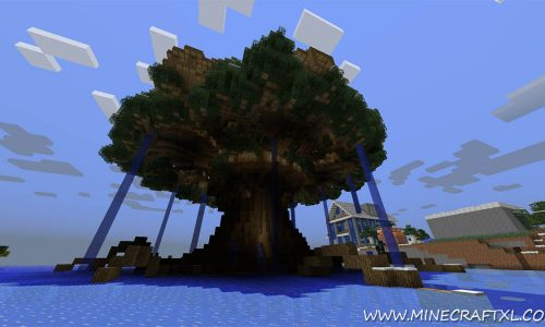Best World Ever Creative/Survival Map for Minecraft 1.7.2/1.6.4