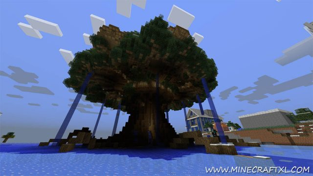 Best World Ever Map for Minecraft