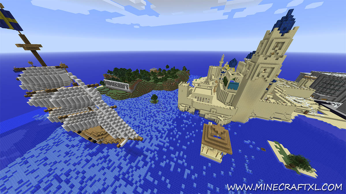 Best World Ever Creative Survival Map Download For