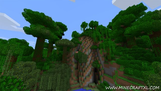 Better grass and leaves mod for Minecraft