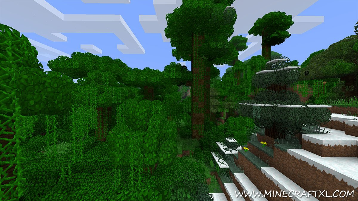 Better Grass and Leaves Mod Download for Minecraft 1 6 4