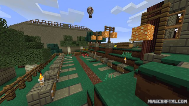 Bluebird Resource and Texture Pack for Minecraft