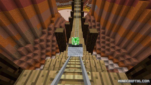 Bone Canyon Roller Coaster