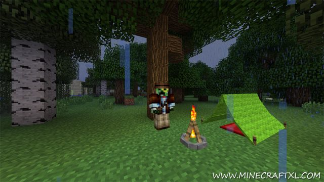 The Camping Mod for Minecraft