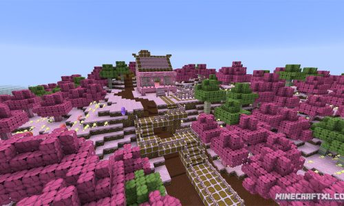 CandyCraft Resource Pack | Minecraft 1.8
