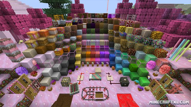 CandyCraft Resource Pack