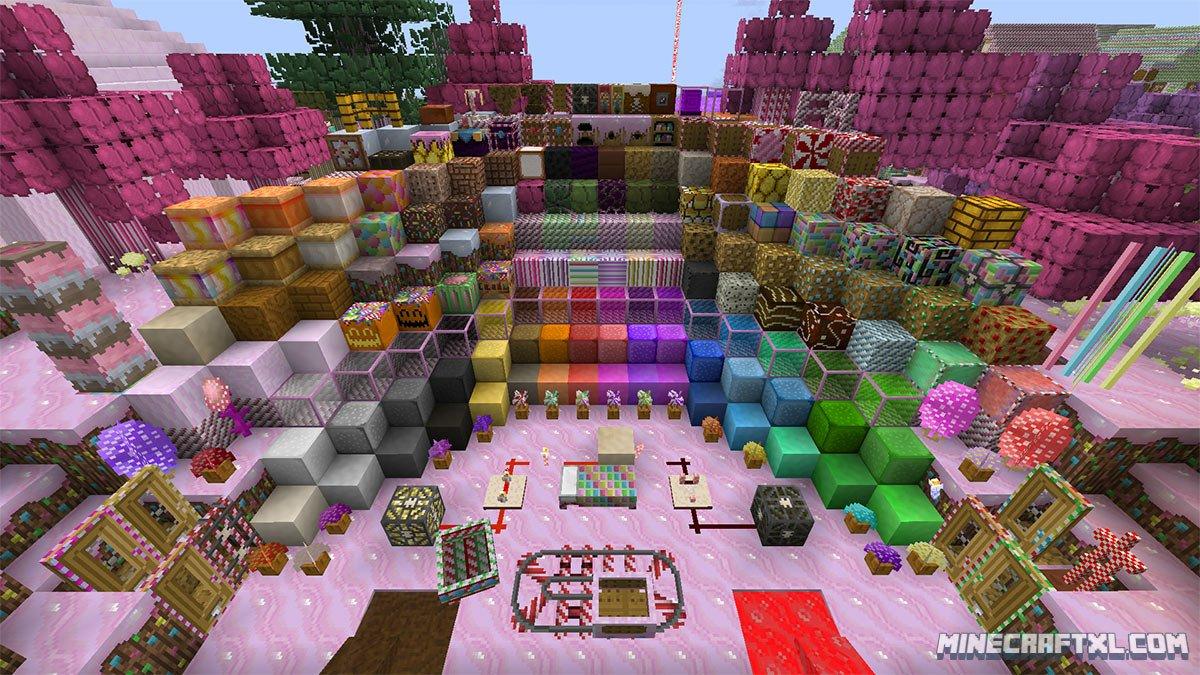 Candycraft Resource Texture Pack Download Minecraft 1 8