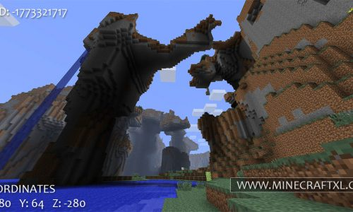 Minecraft Large Natural Canyons Seed: -1773321717