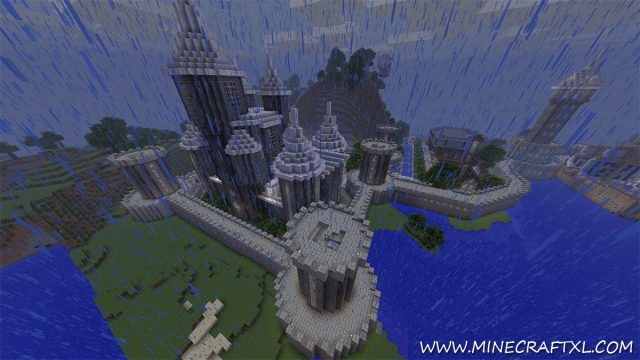 Castle Lividus Map for Minecraft