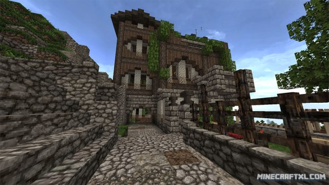 Minecraft Medieval Texture Pack