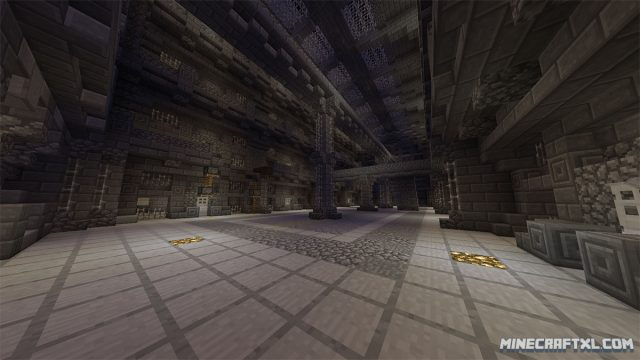Cops and Robbers 3 Map for Minecraft