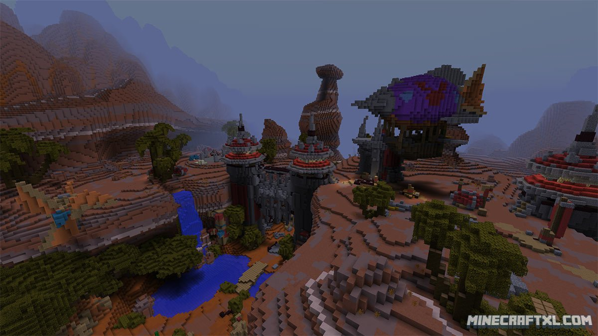minecraft dead world map download