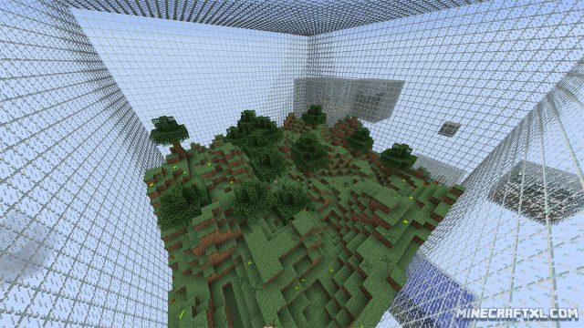 Cube World Generator Mod for Minecraft