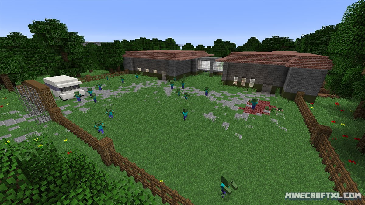 Dead World Zombie Adventure Map Download for Minecraft 18