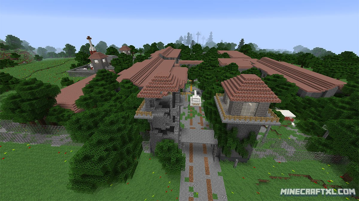 Dead World Zombie Adventure Map Download for Minecraft 1.8