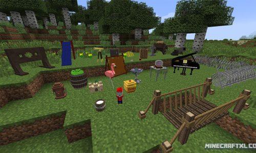 DecoCraft Mod for Minecraft 1.7/1.6