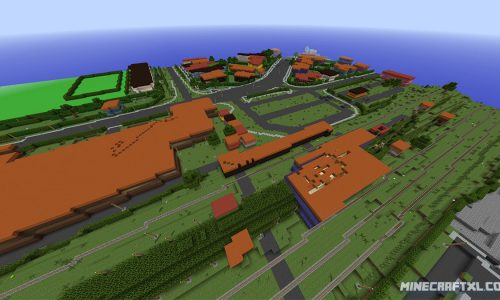 The whole country of Denmark in Minecraft – recreated in a 1:1 scale map