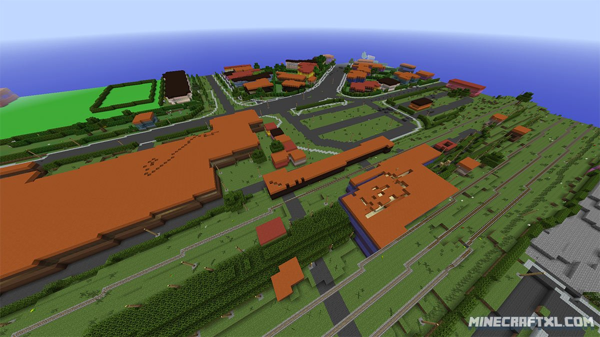 Denmark the whole country recreated as a 11 scale Minecraft Map