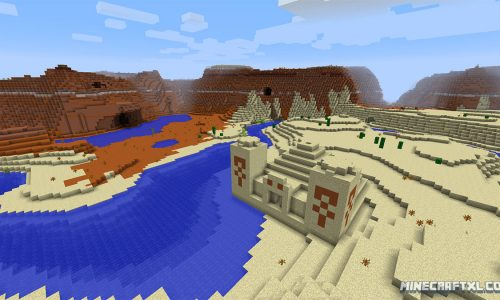 Diamonds Galore Seed for Minecraft 1.8