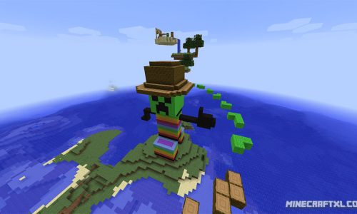 Epic Jump Map v2.0 for Minecraft 1.8/1.7