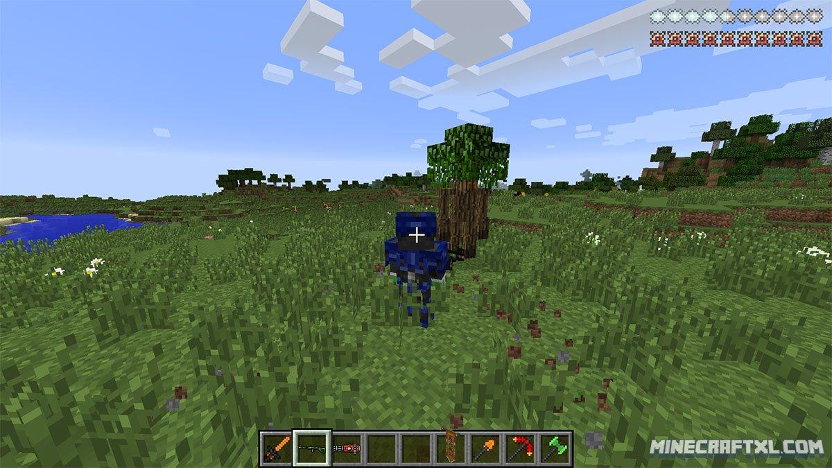 скачать скины для minecraft 1.7.10 forge #11