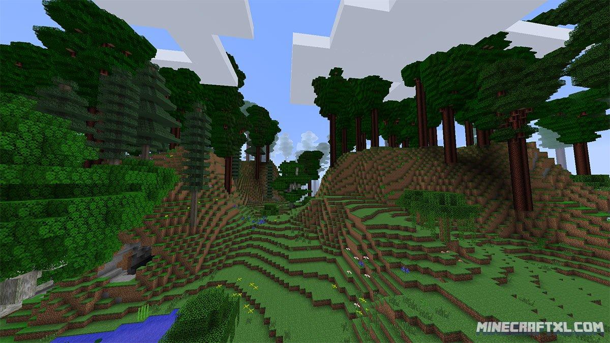 Скачать мод Extrabiomesxl для Minecraft 1.7.10