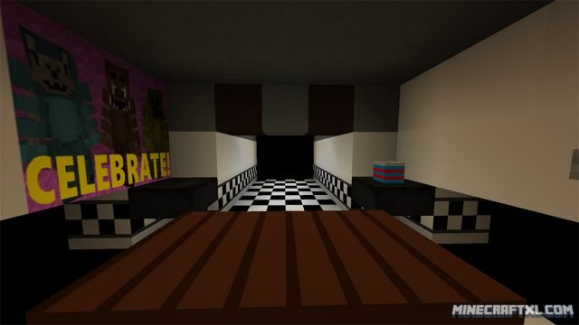 Five Nights at Freddy's 2 Map