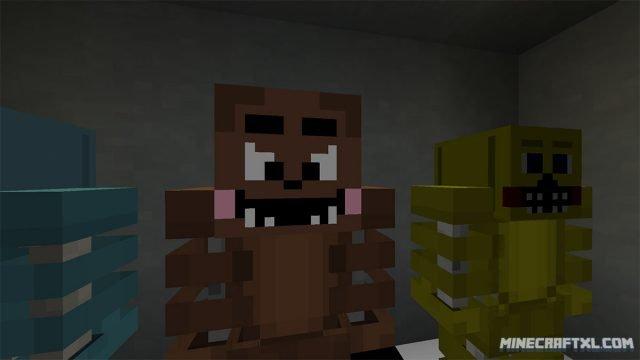 minecraft 5 nights at freddys download