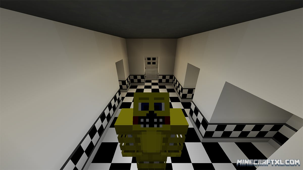 Five Nights at Freddy's 2 Map Download for Minecraft 1 8