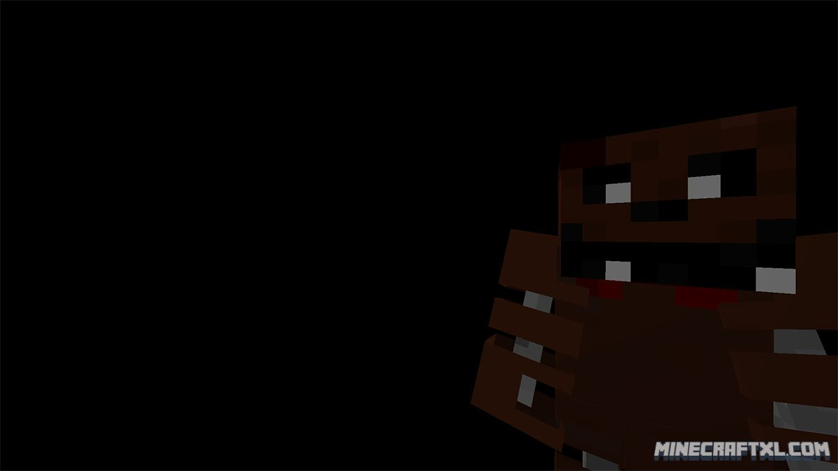 Five nights at freddy's 2 map for minecraft 1 8