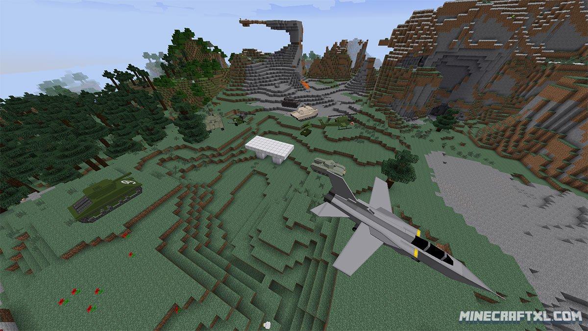 Flans Mod Download For Minecraft MinecraftXL - Minecraft maps fur flans mod