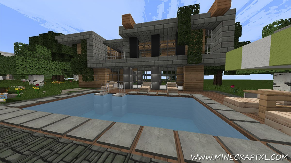 Flows HD esource and exture Pack Download for Minecraft 1.7/1.6 - ^
