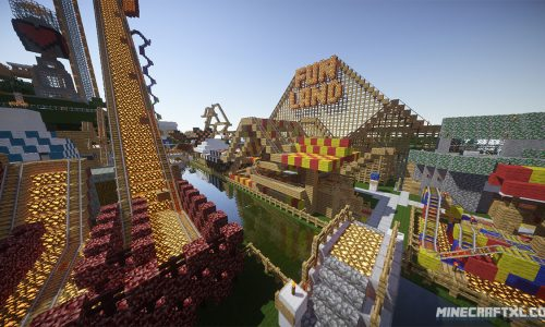FunLand 3 Adventure Map for Minecraft 1.8/1.7