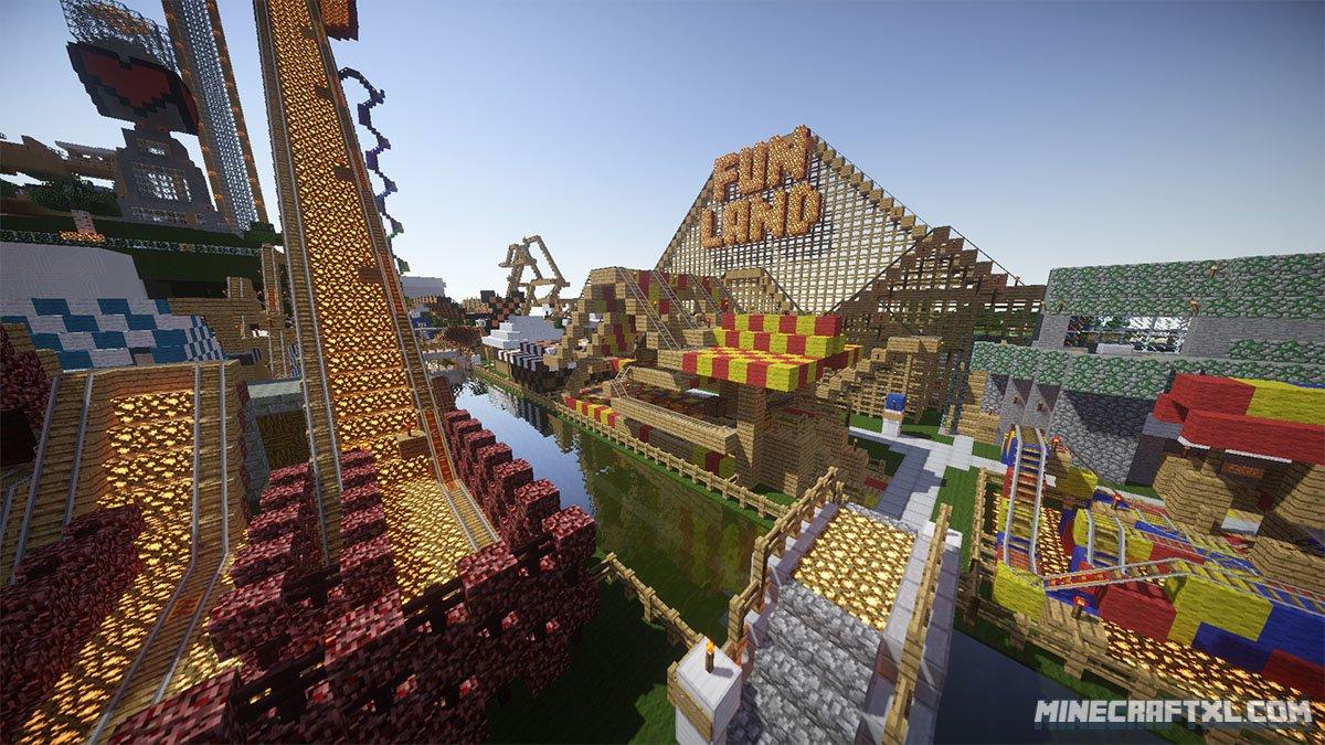 Funland Adventure Map For Minecraft MinecraftXL - Minecraft maps spielen
